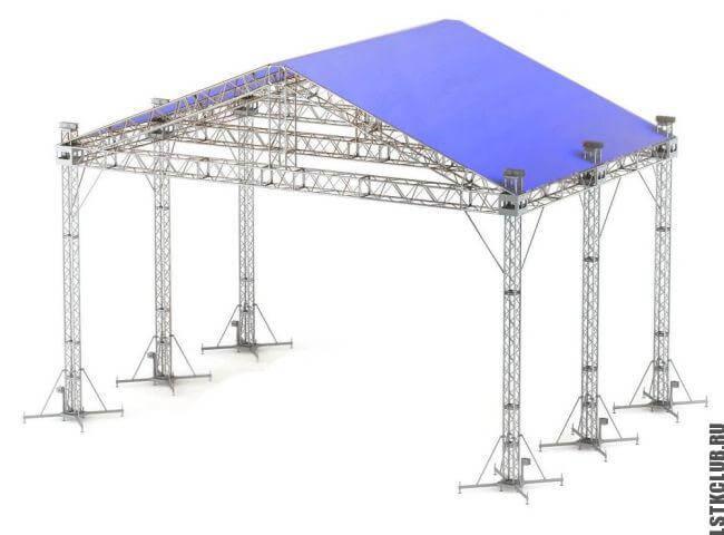 Проект быстровозводимой тентовой конструкции