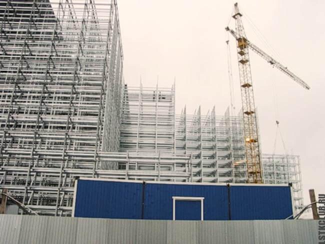Строительство быстровозводимого здания из 20 этажей