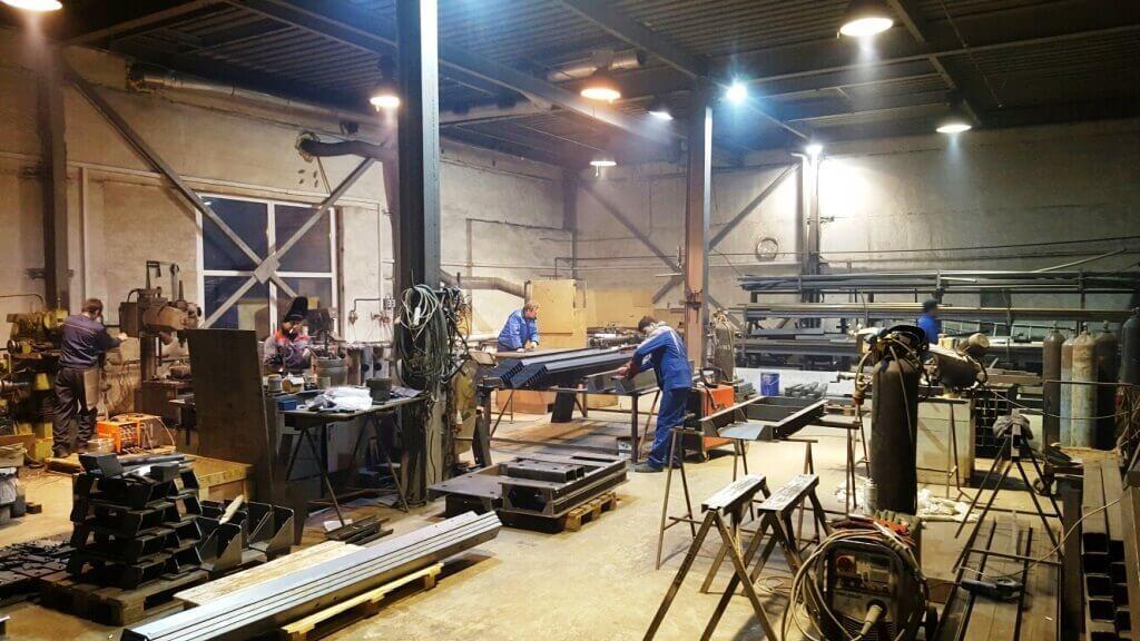 Производство легких металлоконструкций в России