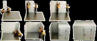 Сборка холодильных камер