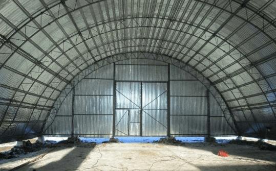 Зернохранилища из ЛМК