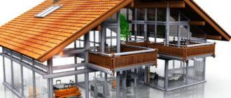 Быстровозводимые дома из ЛСТК конструкций