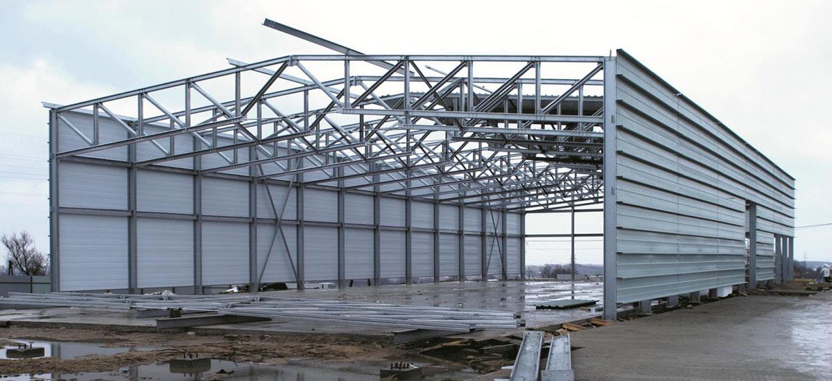 Монтаж быстровозводимых зданий из металлоконструкций