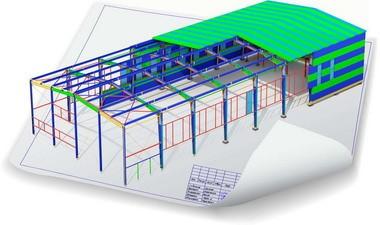 Проектирование ЛМК быстровозводимых зданий