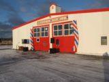 Быстровозводимое здание для пожарного депо