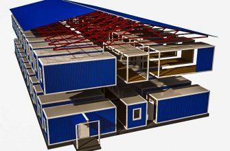 Быстровозводимые модульные здания и цена на них