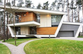 Быстровозводимые дома в стиле хай тек под ключ