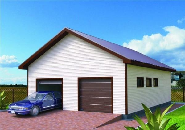 Быстровозводимые дома с гаражом под ключ