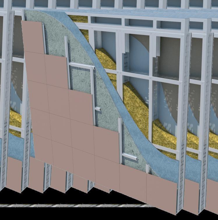 Стеновые ограждающие панели