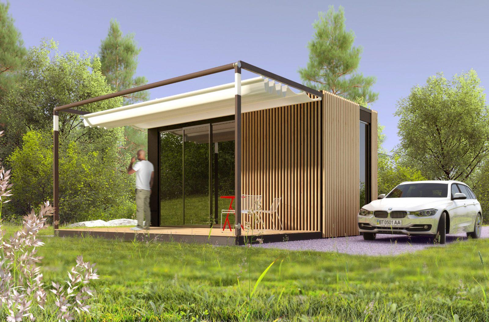 Купить модульный дом