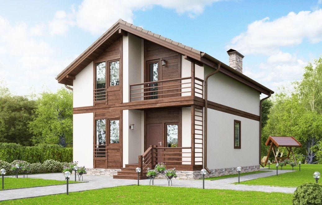 Картинки красивых не дорогих домов