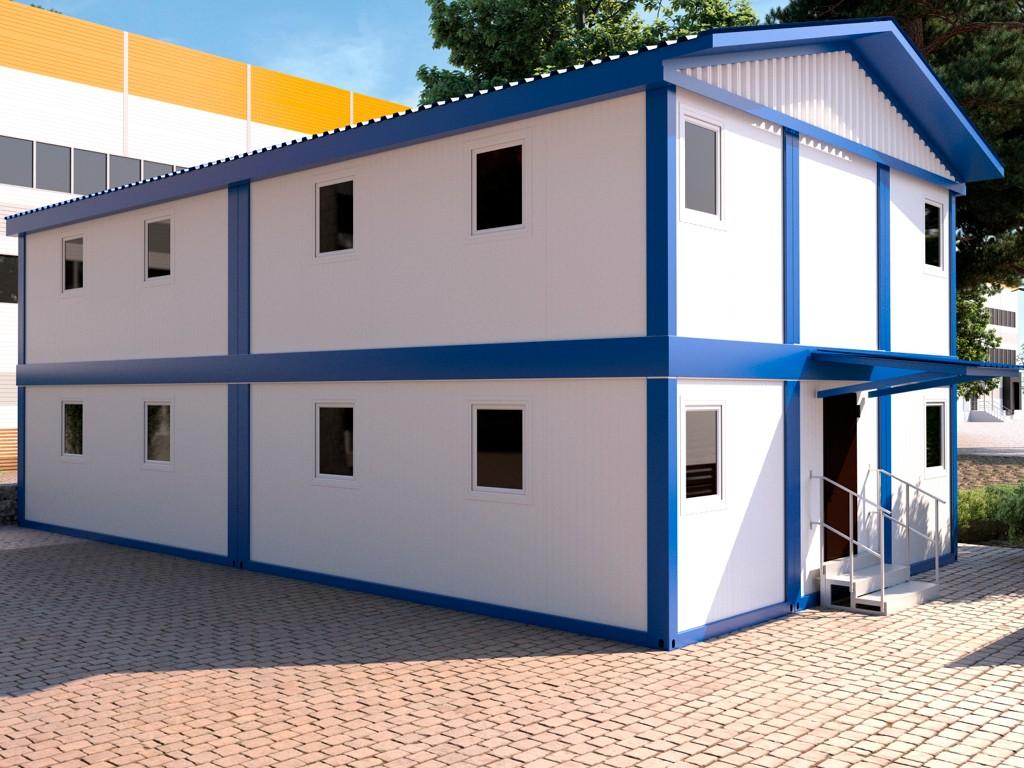Разборные модульные здания