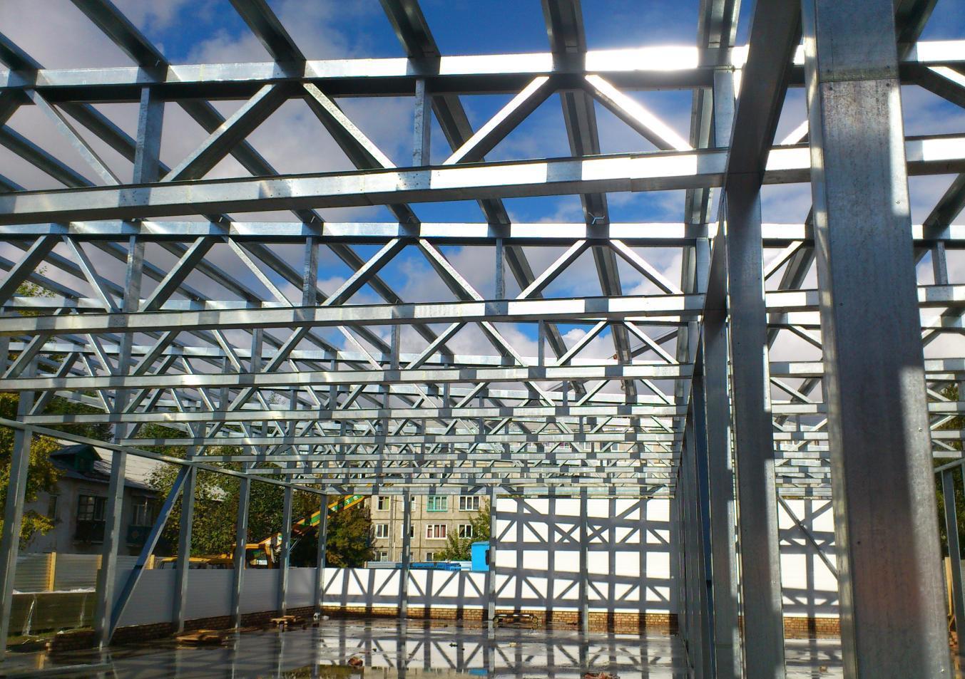 Строительство модульных зданий по технологии ЛСТК