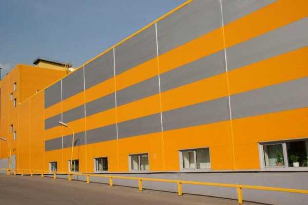 Производственное здание из сэндвич панелей