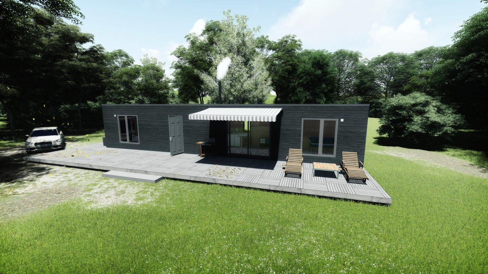 Готовые модульные дома