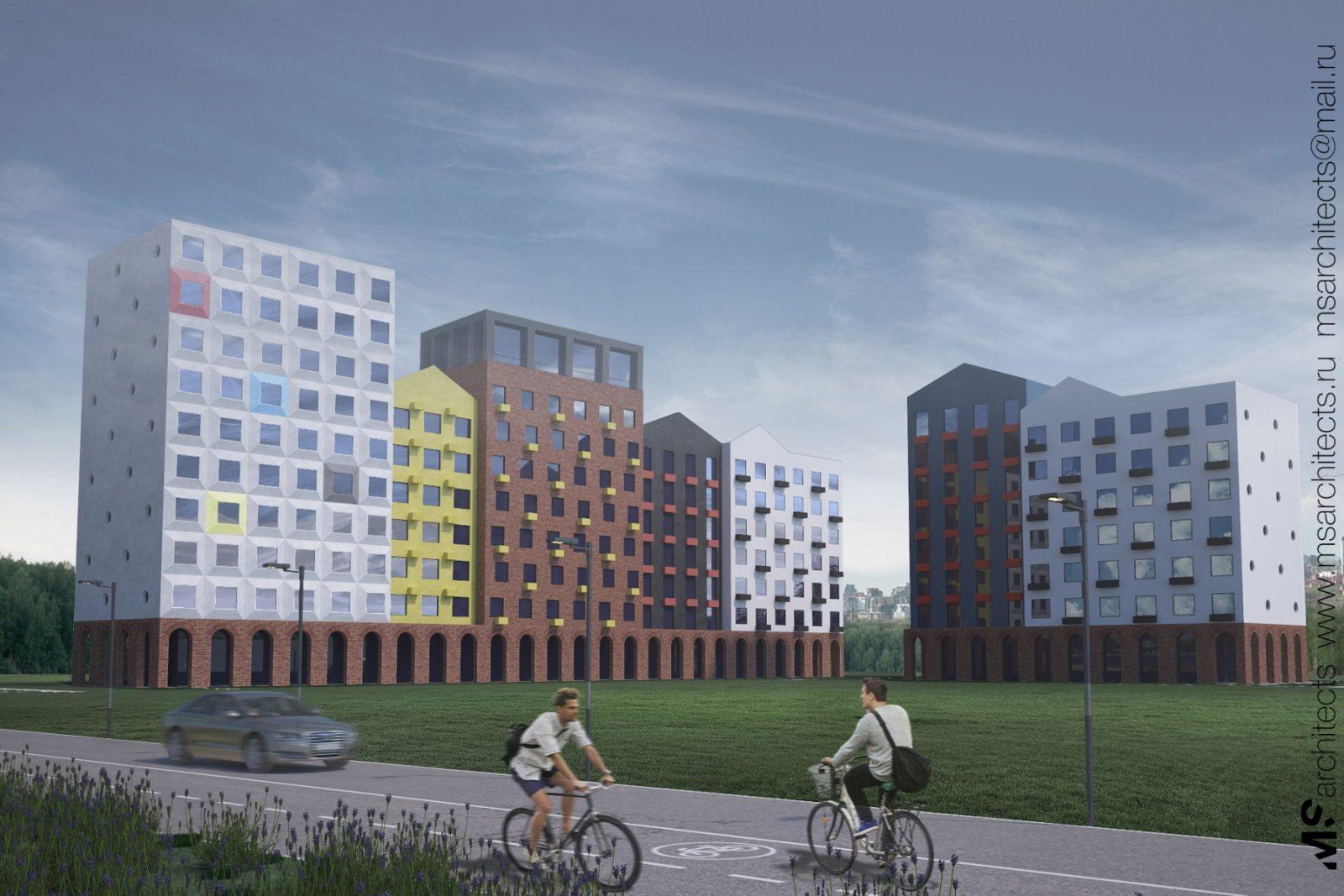 Проектирование жилых домов в Москве