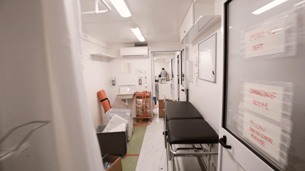 строительство коронавирусной больницы