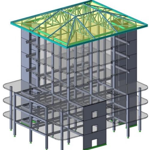 Проектирование и монтаж металлоконструкций ЛСТК