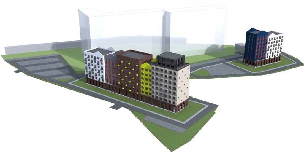 Проектирование конструкций многоэтажного каркасного здания